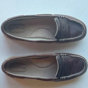 Sperry Brown Top Sider Shoes Sz 7.5